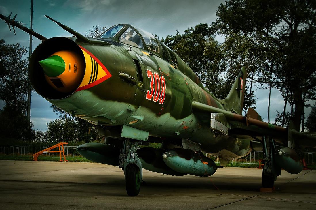 Sukhoi 22 by JoostvanD