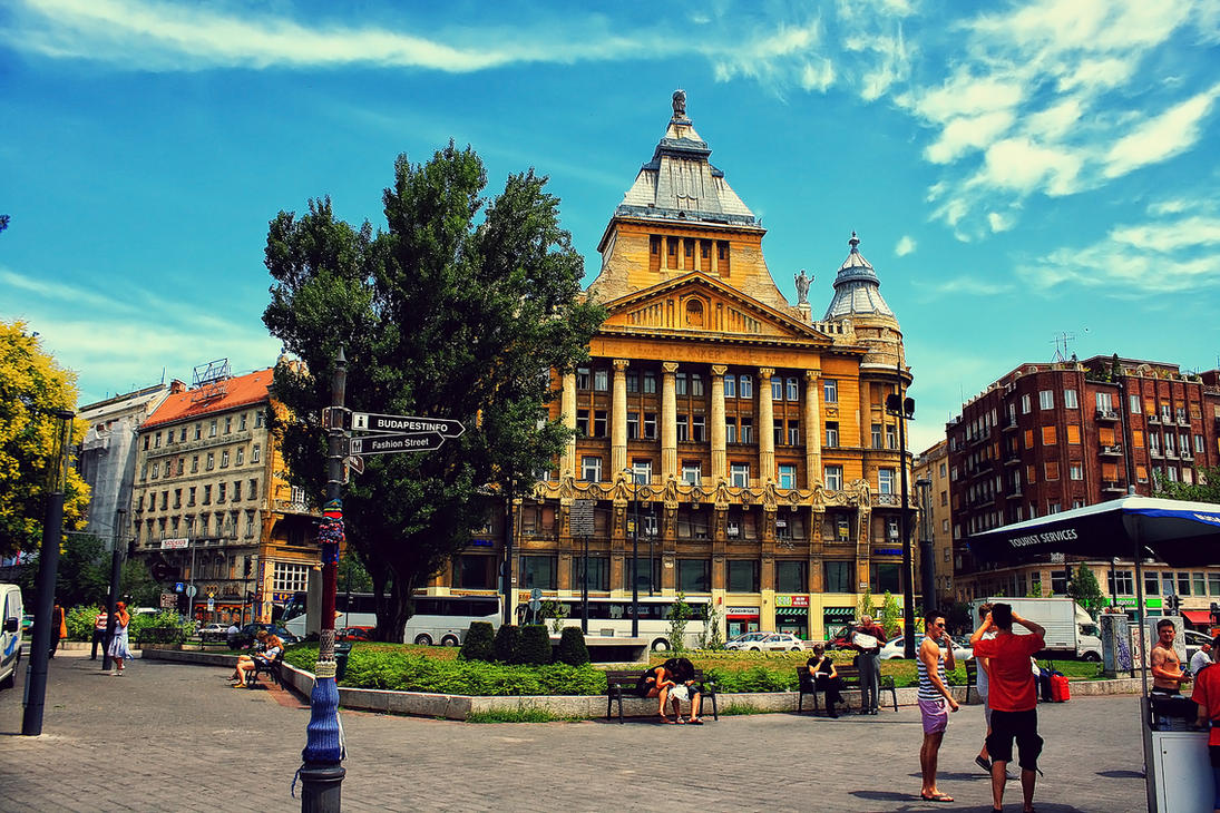 Budapest Anker Palace by JoostvanD