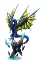Blue Dragon by Urtran