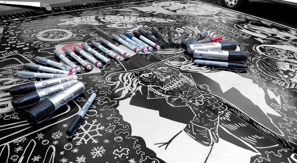 Sharpie Blazer Markers by AllHailZ