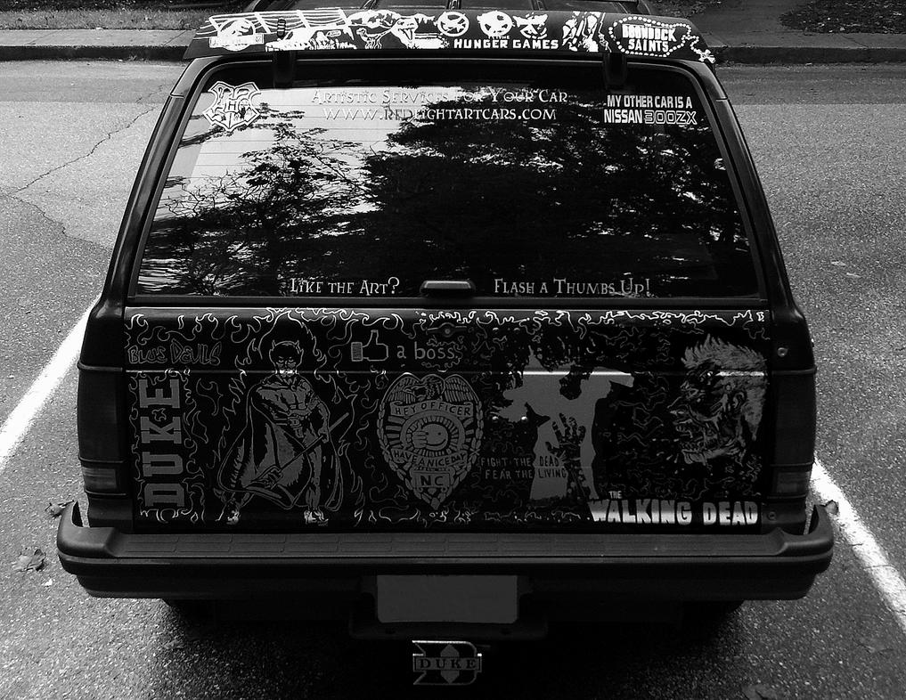 Completed Sharpie Chevy Blazer Rear by AllHailZ