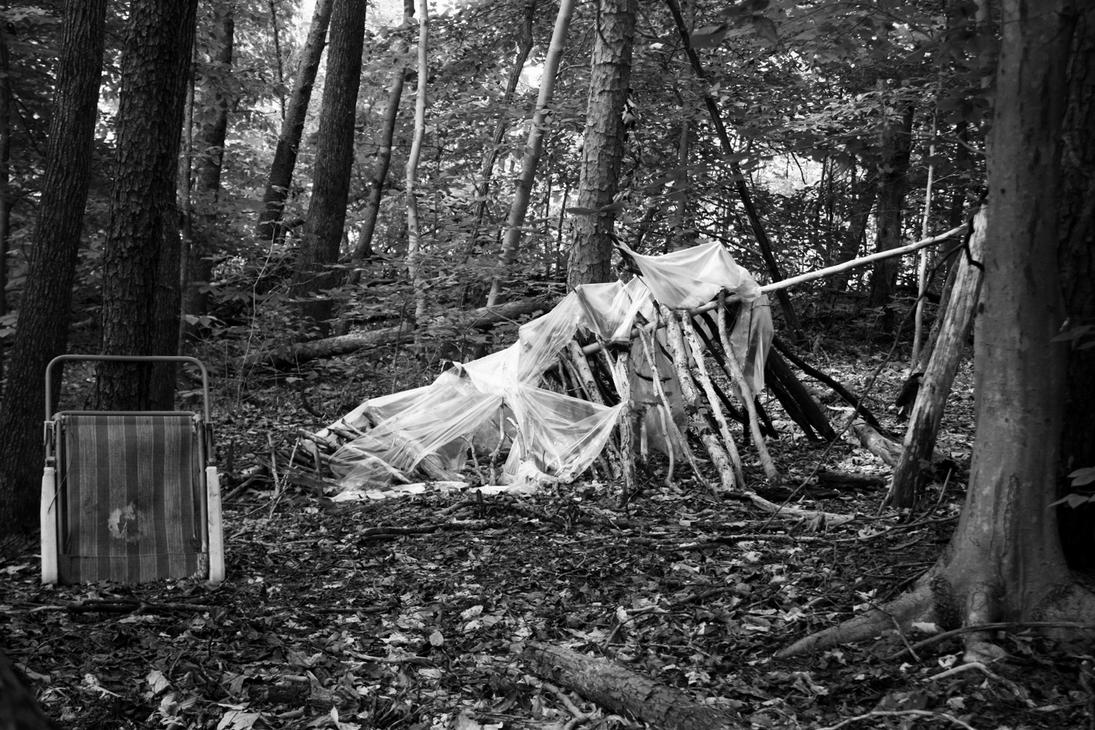 Abandoned Shelter by AllHailZ