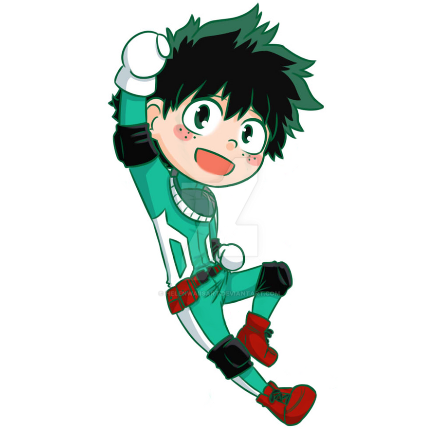 Deku Chibi By HelenwaiisArt On DeviantArt