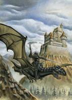 dragon knight by albe75
