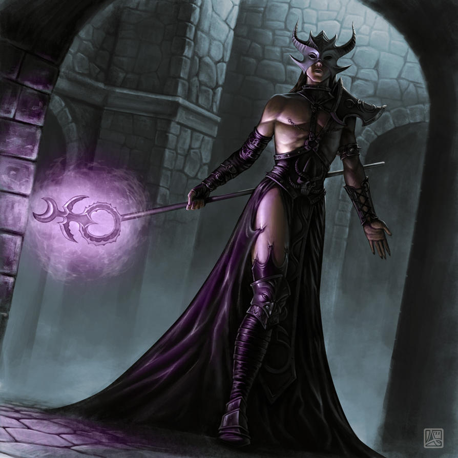 Sorcerer of Slaanesh by albe75