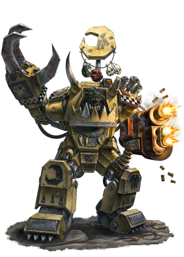 ork warlord by albe75