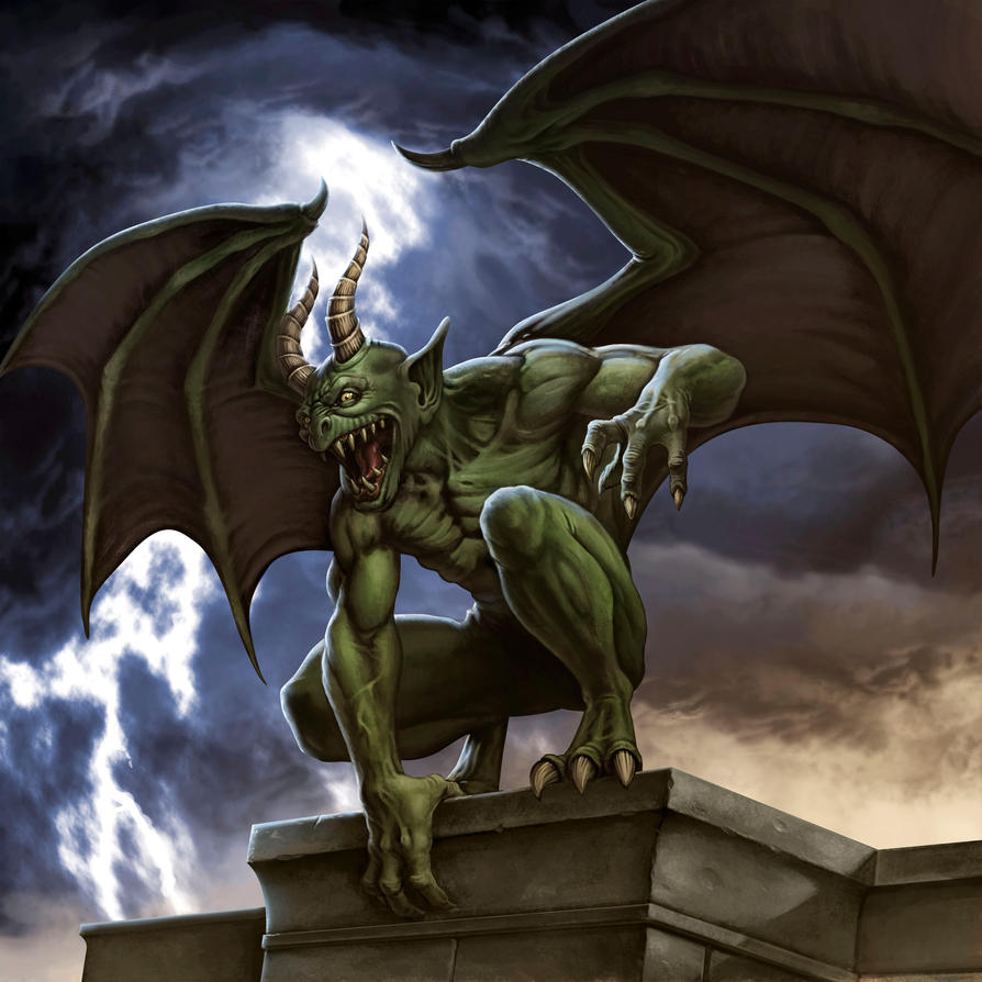 Gargoyle Greebo by albe75 on DeviantArt