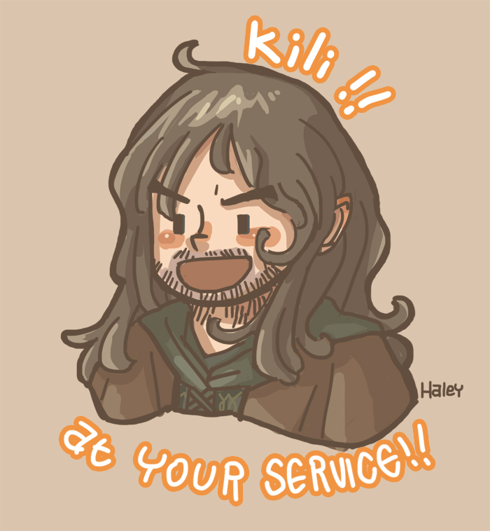 Kili! At your service! by haleyhss