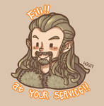 Fili! At your service!