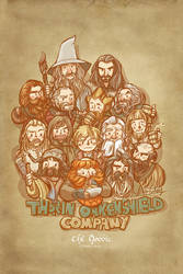 Thorin Oakenshield Company-1 by haleyhss