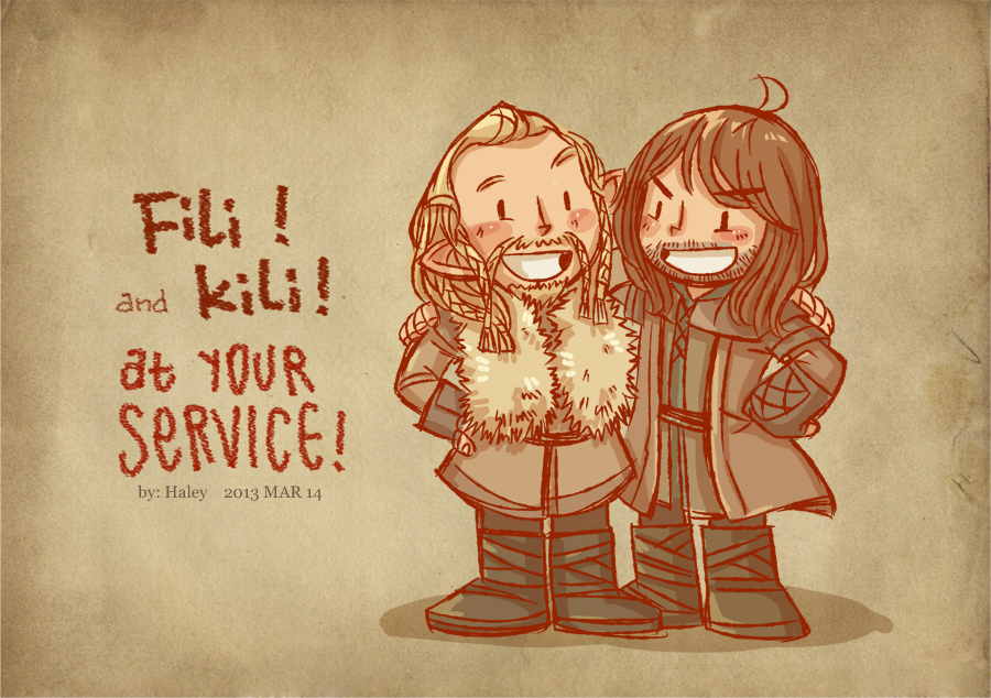 Fili and Kili by haleyhss