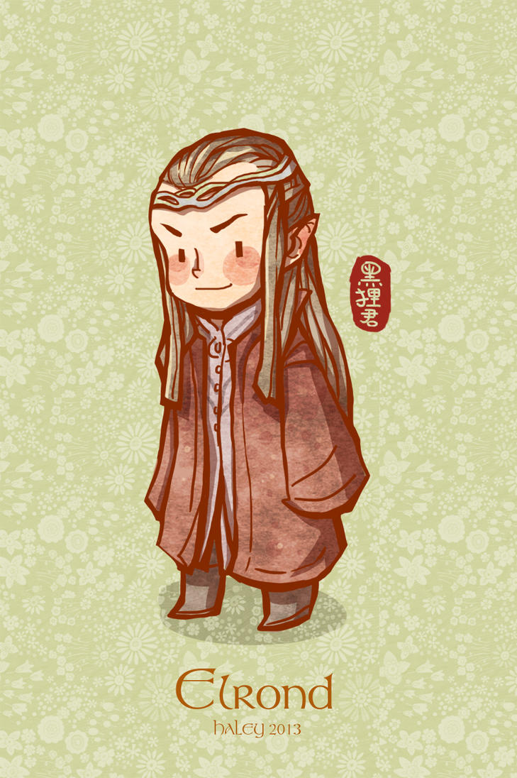 Elrond by haleyhss