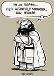 Dwalin: He's shorter! and wider!