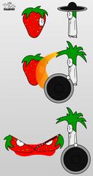 Mortal Klockbat - Strawberry vs. Kung Leek by 53xy83457
