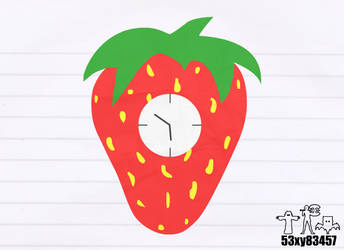 Strawberry Clock (NGD) by 53xy83457