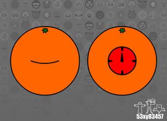 Evil Orange (BG) by 53xy83457