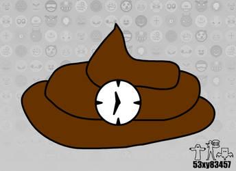 Turd Clock (BG) by 53xy83457