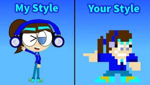My Style, Your Style (TamaeBlueTeen vs 53xy83457)