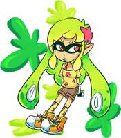 Squid Kid Daniela by CuteyTCat