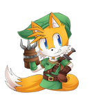 Tails Link Cosplay