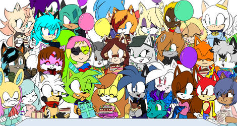 Birthday Party by CuteyTCat