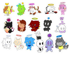 Chao drawings Livestream by CuteyTCat