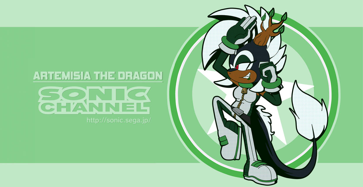 Sonic Channel Artemisia The Dragon by CuteyTCat on DeviantArt