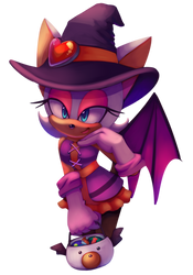 Rouge Halloween by CuteyTCat