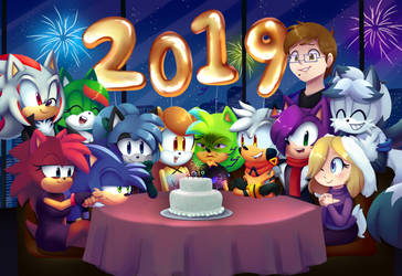 NewYears2019 by CuteyTCat