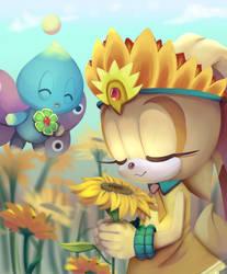 Cream Spring by CuteyTCat
