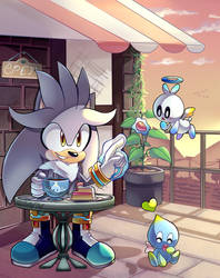 Silver Chao Cafe +Speedpaint