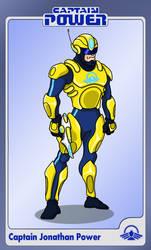 Captain Power Character Sheet