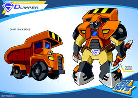 Gobots Animated Dumper by PWThomas