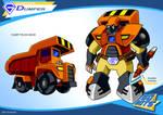 Gobots Animated Dumper