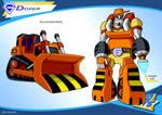 Gobots Animated Dozer