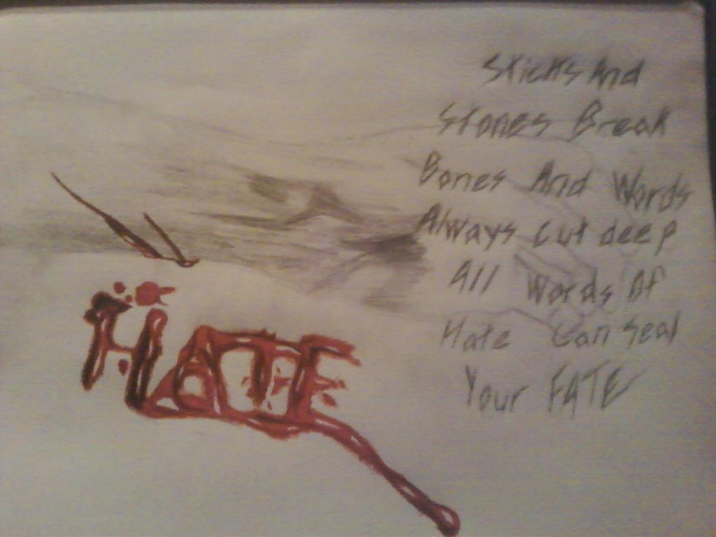words hurt by infernosdead on deviantart