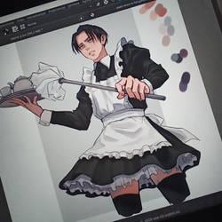 Levi maid ( wip)