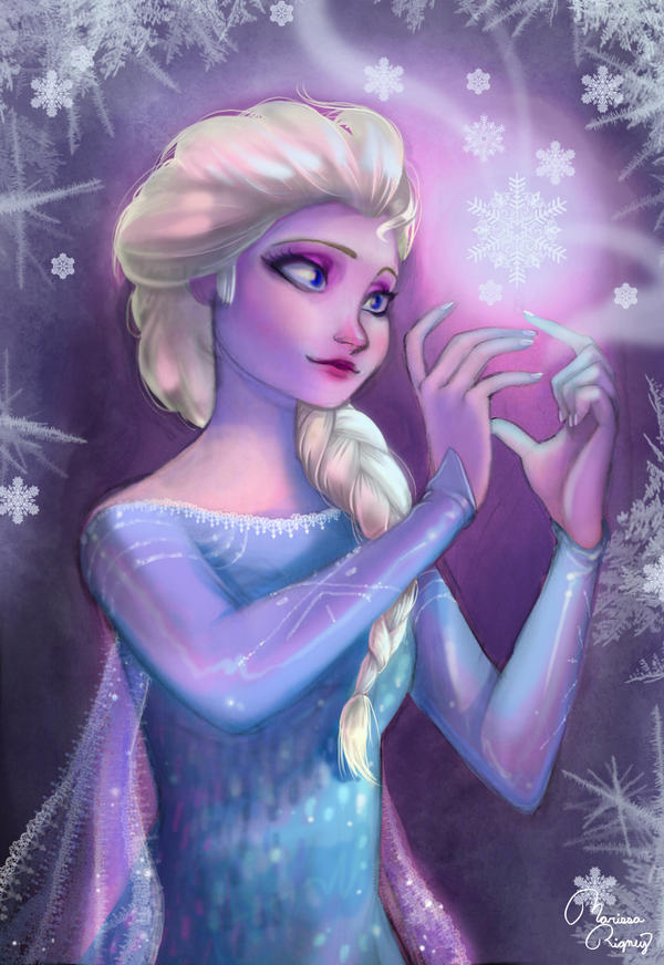 Snow Queen Elsa by Limelight-Night