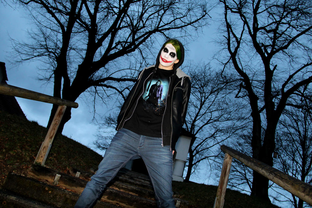 Warum denn so ernst? #Joker by Layzylausi