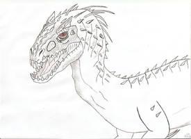 Jurassic world - Indominus Rex by Tyrannuss555