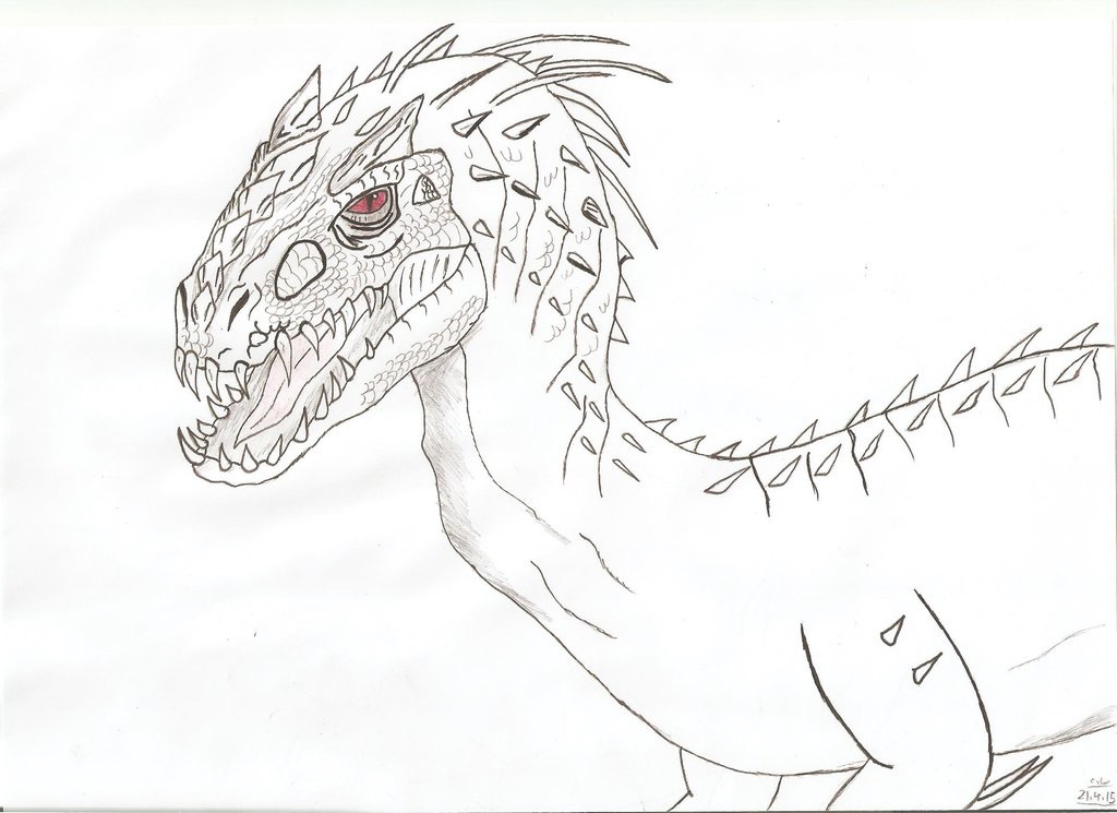 indominus rex jurassic world coloring pages - photo #10
