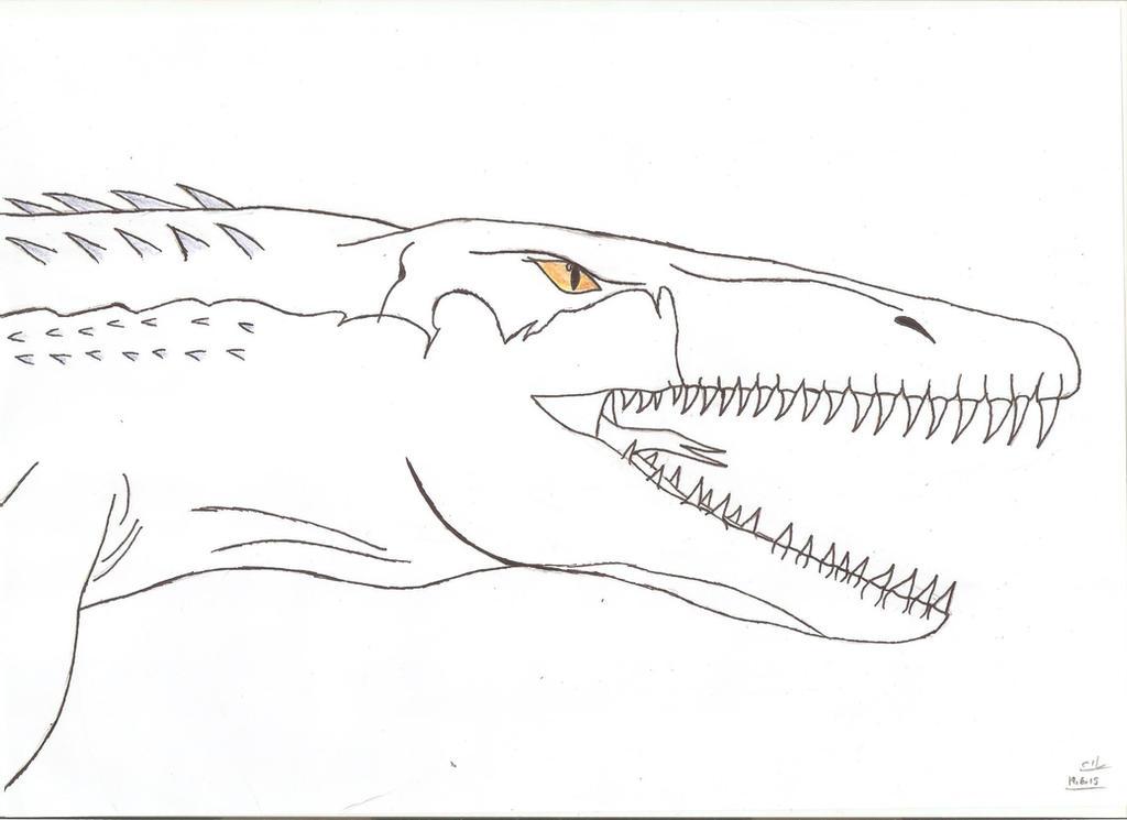 Jurassic World Mosasaurus Tylosaurus