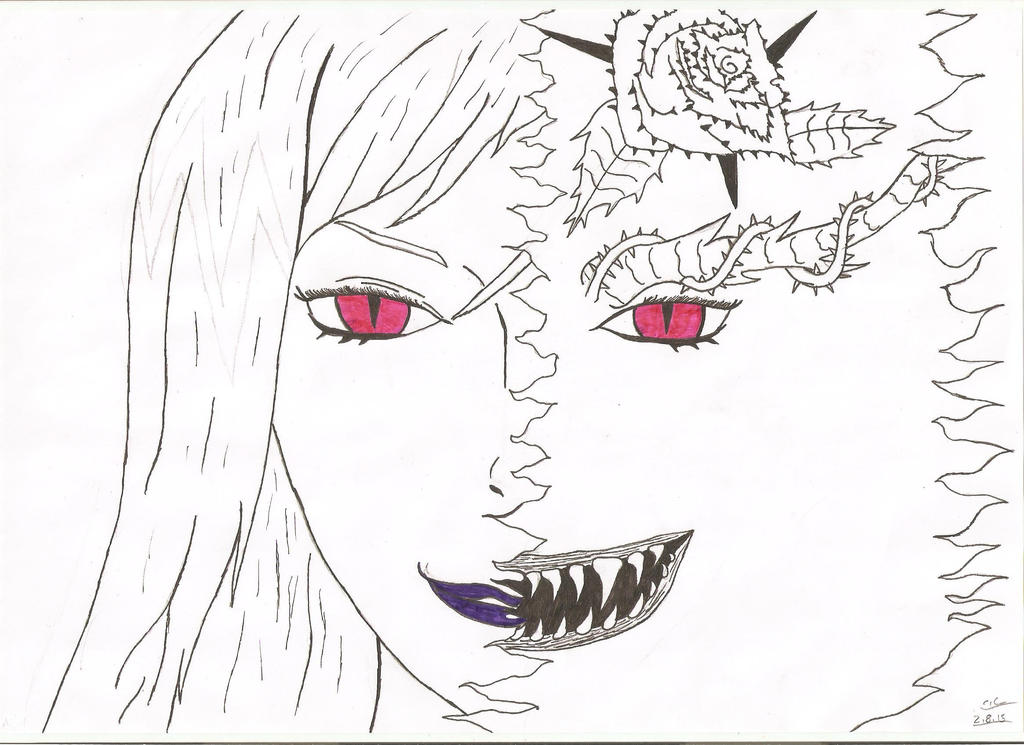 Black Butler Hannah Demon Form