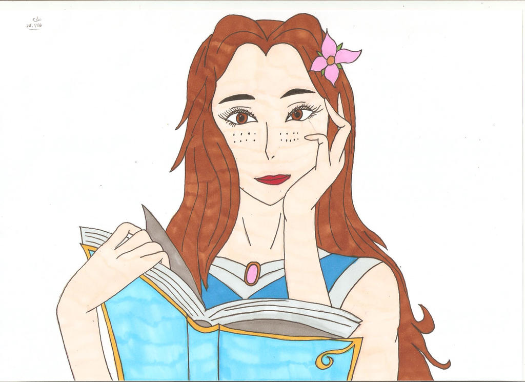 Beauty and the beast - Belle by Tyrannuss555 on DeviantArt
