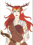 Keyleth - Autumn outfit