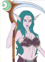 World of Warcraft - Tylaa by Tyrannuss555