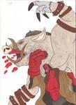 Hellboy vs Gruagach
