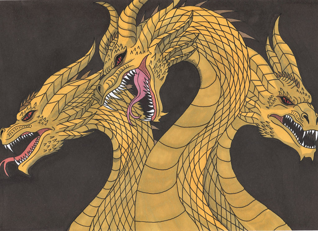 Godzilla KOTM - King Ghidorah The Great Beast.