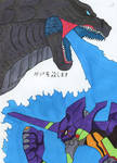 Godzilla Eva - Godzilla's blessing