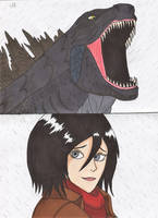 Attack on Titan - Godzilla's return
